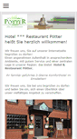 Mobile Preview of hotelpoetter.de